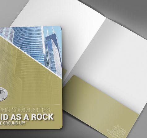 Folder Design for Lajara Group LLC NY