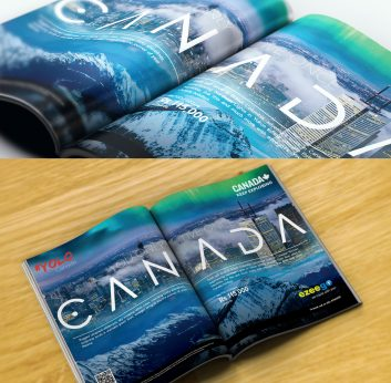 Canada Tourism – Lonely Planet Magazine Advertisement