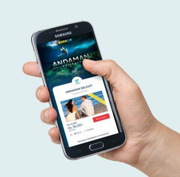 Andaman Tourism Landing Page