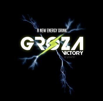 Groza Energy Drink Concept