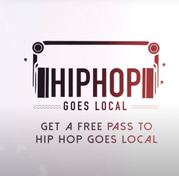 HipHop Goes Local Logo Animation